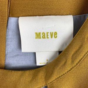 Anthropologie Dresses - Maeve Anthropologie Chardonnay Sheen Cutout Dress